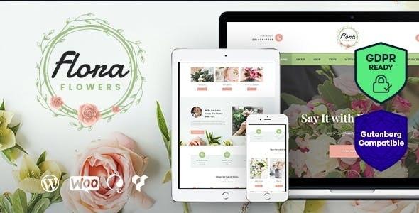 Flowers Boutique and Florist WordPress Theme - Retail WordPress