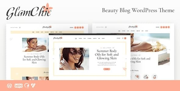 GlamChic | Beauty Blog & Online Magazine WordPress Theme - Personal Blog / Magazine