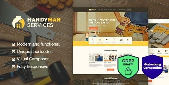 19 Best Handyman WordPress Themes For Handyman Services & Home Repair 2019