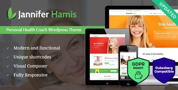 Health Coach Blog & Lifestyle Magazine WordPress Theme - Health & Beauty Retail