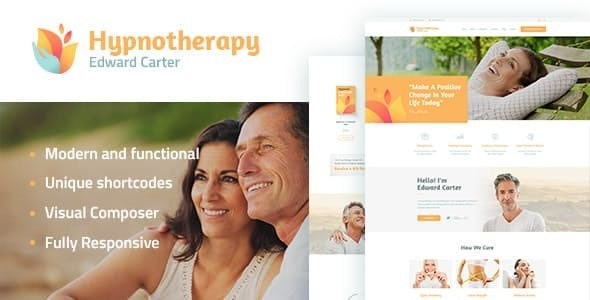 Hypnotherapy and Psychologist Therapy WordPress Theme - Health & Beauty Retail