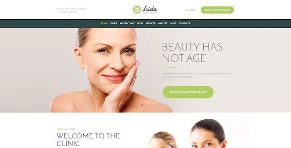 Isida - Plastic Surgery Clinic | Medical WordPress Theme