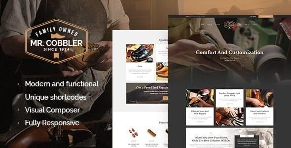 Mr. Cobbler   Custom Shoemaking & Repairs WordPress Theme