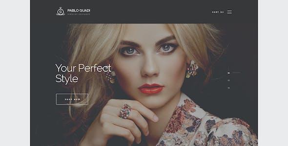 Pablo Guadi - Precious Stones Designer & Handcrafted Jewelry Online Shop WordPress Theme