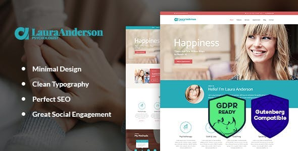 Psychologist | Therapy and Counseling Doctor WordPress Theme