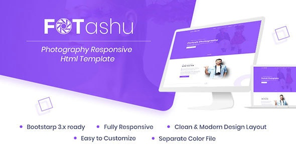 fotashu - Photography responsive html template - Photography Creative