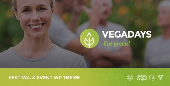 VegaDays - Vegetarian Food Festival & Eco Event WordPress Theme - Events Entertainment