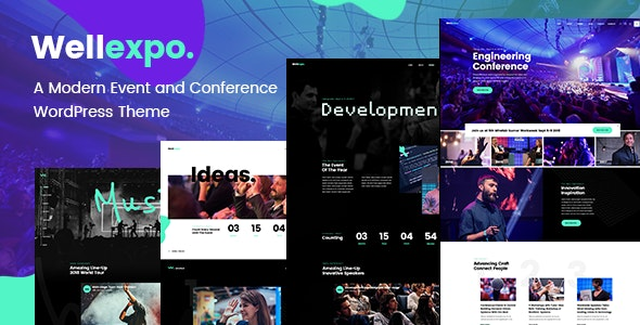WellExpo - Event & Conference Theme - Events Entertainment