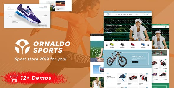 Sport WordPress eCommerce Themes from ThemeForest