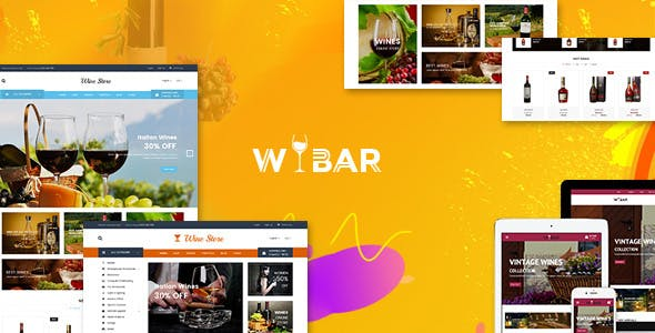 Wibar - Wine, Winery and Vineyard WooCommerce WordPress Theme
