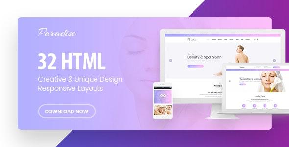 Paradise - Multipurpose HTML Template - Health & Beauty Retail
