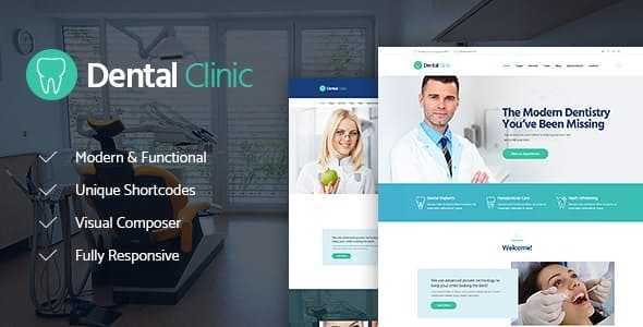 Dental Clinic, Medicine & Healthcare Doctor WordPress Theme - Health & Beauty Retail