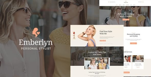 Emberlyn | Personal Stylist & Fashion Clothing WordPress Theme - Personal Blog / Magazine