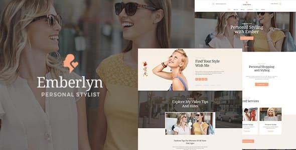 Emberlyn   Personal Stylist & Fashion Clothing WordPress Theme