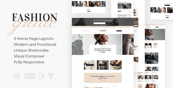 Fashion Guide | Online Magazine & Lifestyle Blog WordPress Theme - Personal Blog / Magazine