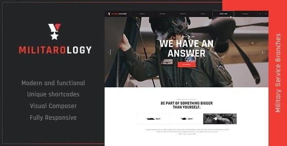 Military Service & Army Veterans Army WordPress Theme - Activism Nonprofit