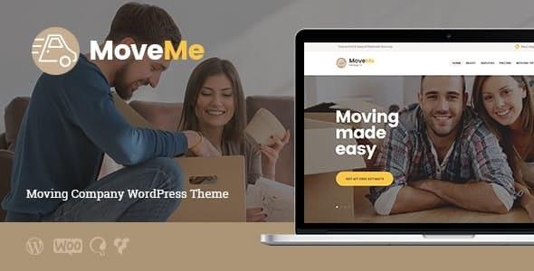 MoveMe   Moving & Storage Company WordPress Theme