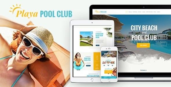 Playa | City and Private Beach & Pool Club WordPress Theme - Entertainment WordPress