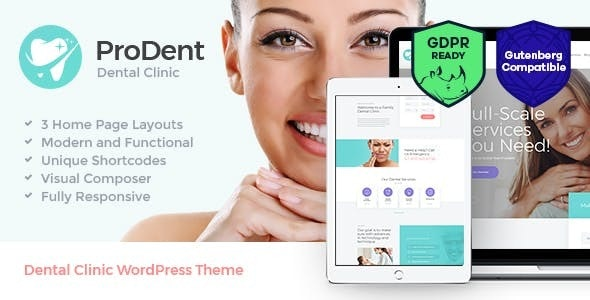 ProDent | Dental Clinic & Healthcare Doctor WordPress Theme + RTL - Health & Beauty Retail