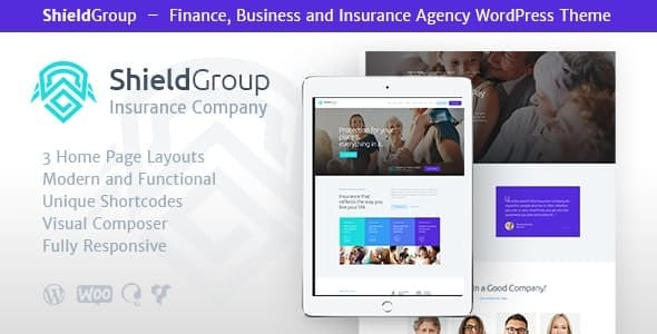 ShieldGroup | An Insurance & Finance WordPress Theme - Business Corporate