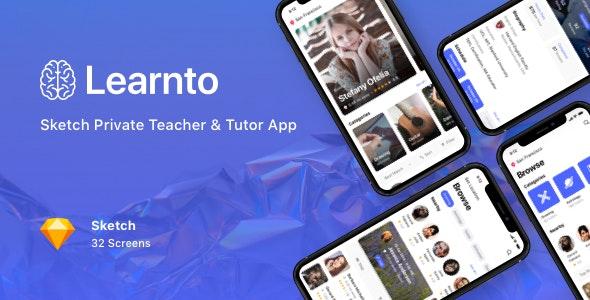 Learnto - Sketch Private Teacher & Tutor App - Sketch Templates