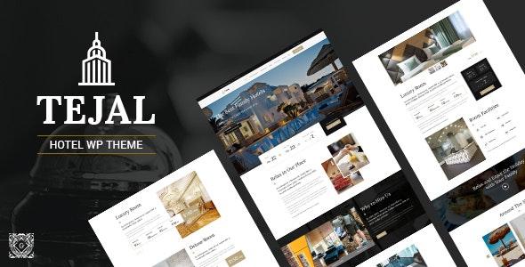 Tejal - Hotel WordPress - Travel Retail