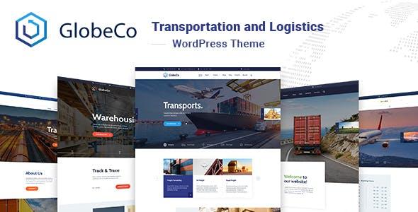 GlobeCo - Transportation & Logistics WordPress Theme
