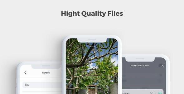 Homm - Real Estate Sketch UI Kit
