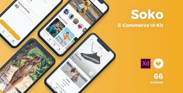Soko - Ecommerce UI Kit