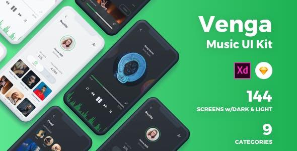 Venga - Music UI Kit