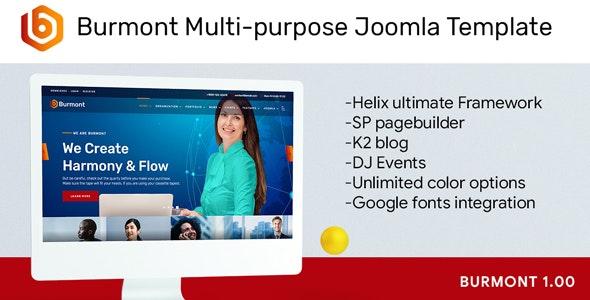 Burmont Multi-purpose Joomla Template - Business Corporate