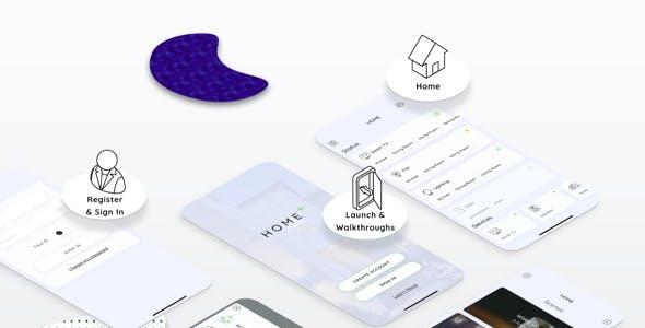 HOPL - Home Control Mobile Sketch App