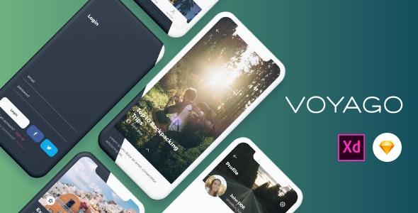 Voyago - Travel App UI Kit - Travel Retail