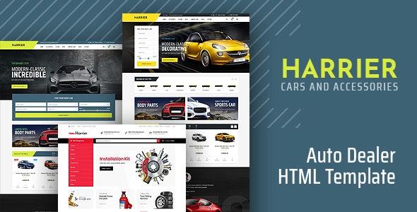Harrier - Car Dealer HTML Template - Retail Site Templates
