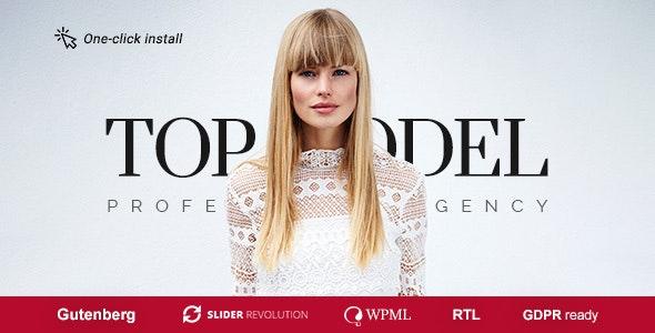 Top Model - Agency and Fashion WordPress Theme - Fashion Retail