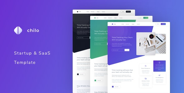 Chilo - Startup and SaaS Template - Software Technology