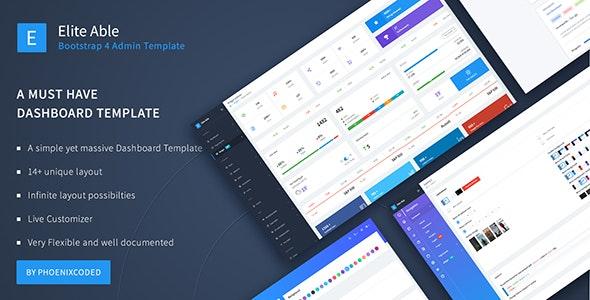 Elite Able - Bootstrap 4 Admin Template - Admin Templates Site Templates