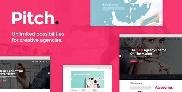 Pitch - Digital Agency & Freelancer Theme - Portfolio Creative