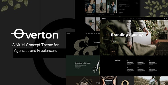 Overton - Creative Theme for Agencies and Freelancers - Portfolio Creative
