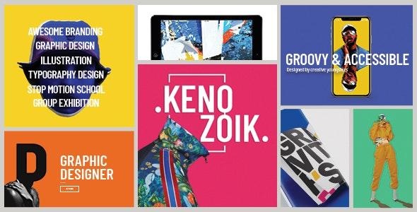 Kenozoik - Vibrant Portfolio Theme - Portfolio Creative