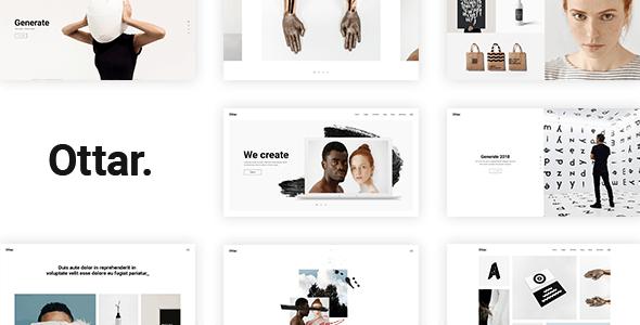 Ottar - Contemporary Portfolio Theme - Portfolio Creative