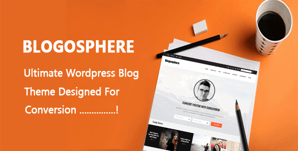 Blogosphere - Multi Purpose WordPress Blog Theme - Blog / Magazine WordPress