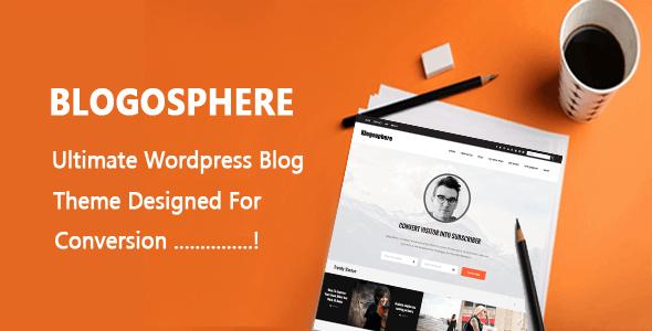 Blogosphere - Multi Purpose WordPress Blog Theme