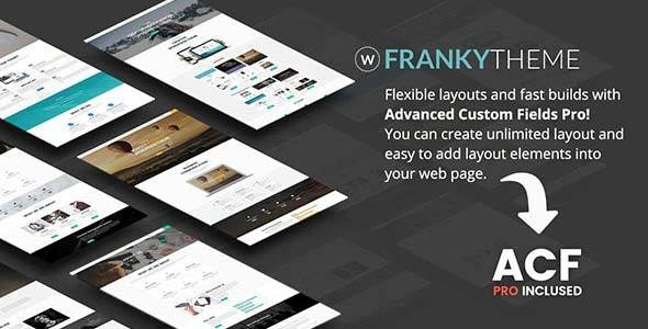 Franky | Multi-Purpose WordPress Theme - Business Corporate