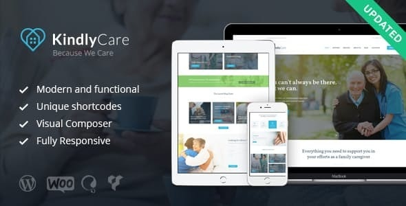 KindlyCare - Senior Care & Medical WordPress Theme - Health & Beauty Retail