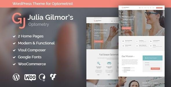 Optometry, Optician & Optics Store Medical WordPress Theme - Health & Beauty Retail