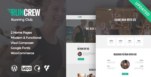 RunCrew | Running Club, Marathon & Sports WordPress Theme - Health & Beauty Retail