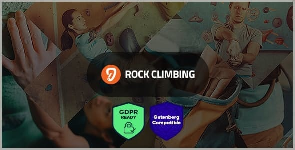 Rock & Wall Climbing / Sport Club WordPress Theme - Entertainment WordPress
