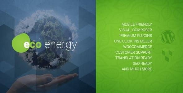 ECO Energy | Ecology & Alternative Power Company WordPress Theme - Business Corporate