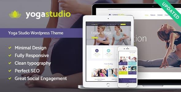 Yogastudio, Gym and Healthcare WordPress Theme